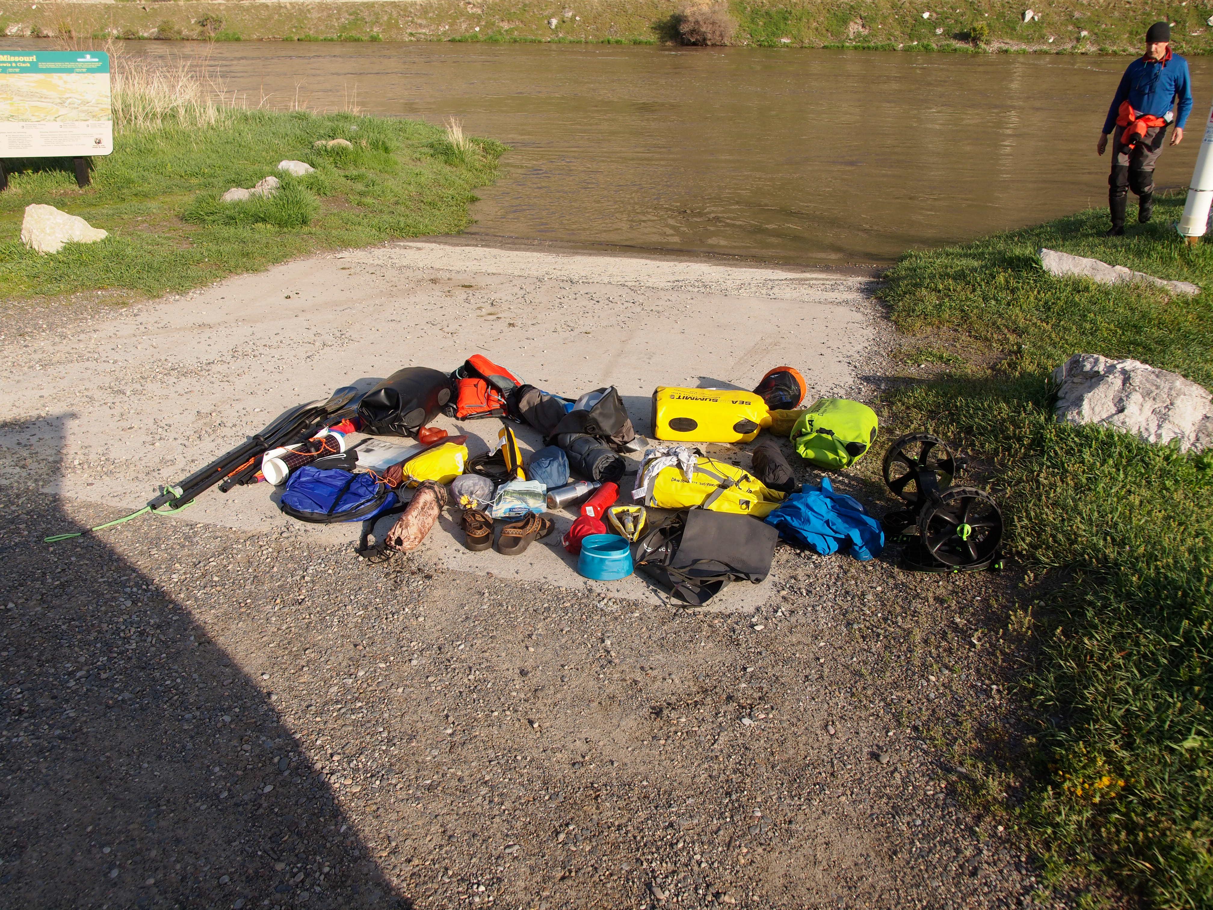 Colorado Man to Kayak River from Montana to Missouri